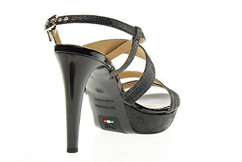 NERO GIARDINI scarpe donna sandalo P717890DE/100 Nero