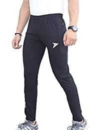 d8b4a60de Fitinc Dobby Lycra Trackpant for Men with Two Side Zipper Pockets –  Stretchable