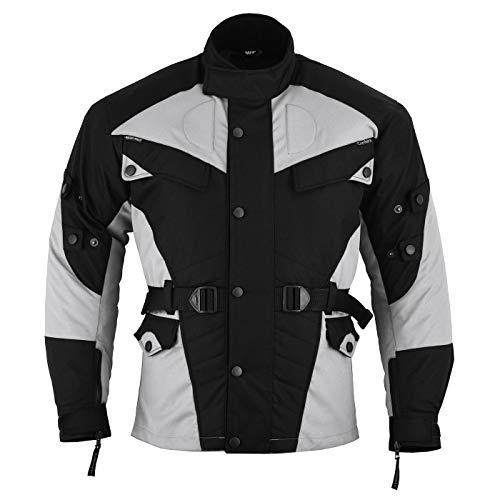 German Wear Motorradjacke, XL, Grau