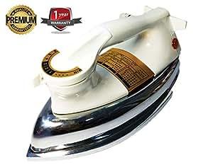 Coruna Heavy Weight Plancha XUV-964 Dry Electric Iron, White