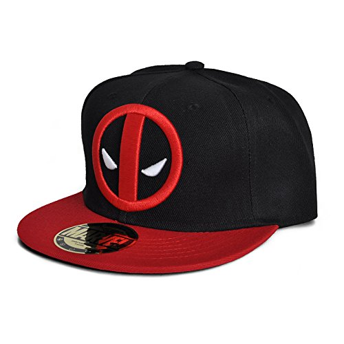 Marvel Casquette snapback Marvel - Deadpool - Legend Icon-Cappellopello Unisex - Adulto    Nero Taglia unica