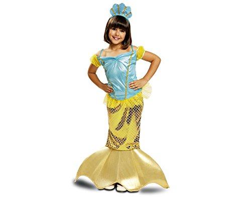 Imagen de my other me  disfraz de sirenita para niña, 5 6 años viving costumes 200719