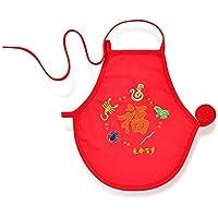 WMM Solo Producto Vientre de Vientre de bebé ni Siquiera Delantal de la Pierna Durante Cuatro Temporadas 0-12 Meses bebé Masculino y Femenino,Rojo,66cm