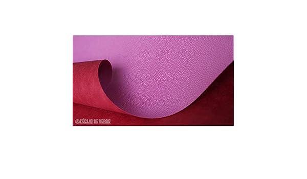 LEclat de Verre Papier Skivertex l/ézard Bordeaux
