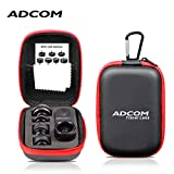 Adcom 8 in 1 Mobile Phone Camera Lens Kit - 0.36x Super Wide
