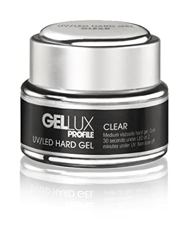 Salon System Profile Gellux UV/ LED Hard Gel Clear 15ml
