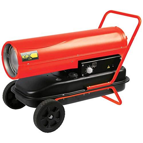 Perel Calefactor Queroseno Diesel Ruedas Calentador Interior Exterior Parafina