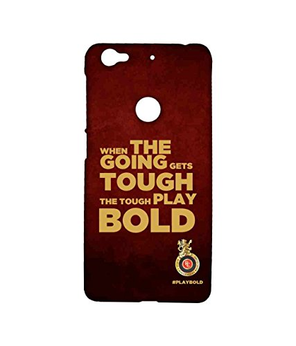 Macmerise Licensed Royal Challengers Bangalore RCB Premium Printed Back cover Case for LeEco Le 1s