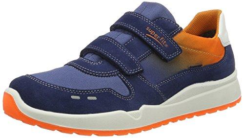 Superfit Strider, Sneakers basses garçon Blau (water Kombi)