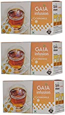 Gaia Camomile Tea (Pack of 3)