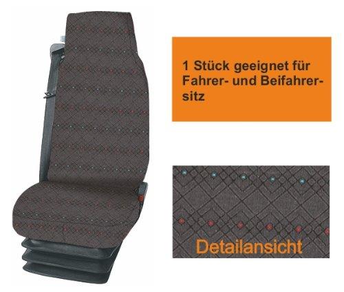 Preisvergleich Produktbild LKW MIXER Cargo Sitzbezug Schonbezug grau für das von Ihnen gewählte Fahrzeug