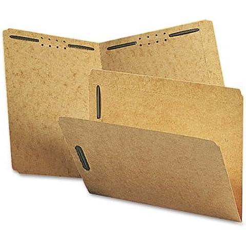 Smead 14813 Kraft K estilo sujetador carpetas, corte recto, lengüeta superior, carta, marrón, 50/caja