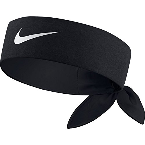 NIKE Tennis-Stirnband Headband, Black/White, One size, 646191-010