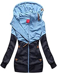 Sweatjacke Damen Kapuzenjacke Oversized Sweatshirt Hoodie Jacke Damen mit  Kapuze Hoodies… 83e2866595