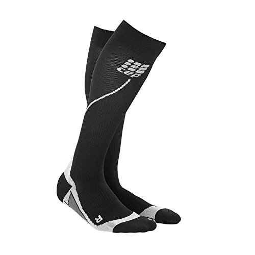 u1c Run Cep Nero grigio Uomo Calza Sportiva 2 M A 0 Socks Iii Compressione dqnqWTO