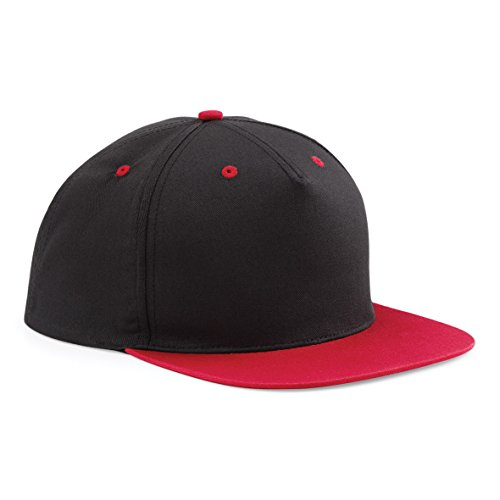 Beechfield Contraste 5 Panel Snapback - 7 Couleurs Disponibles