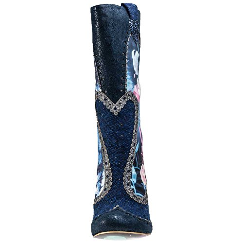 Alice In Wonderland Stiefel LOST YOUR MUCHNESS 4367-02A Blau (Blau)