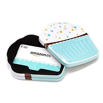 Tarjeta Regalo Amazon.es - €50 (Estuche Cupcake)