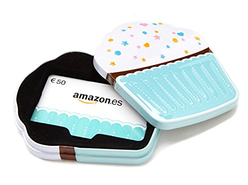 Tarjeta Regalo Amazon.es - €50 Estuche Cupcake