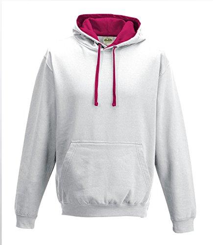CottonRidge -cappuccio Uomo-Donna - Arc Whi/hot Pink