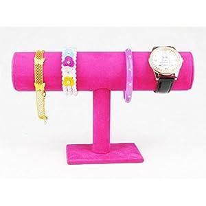 SMO Schmuckständer kleiderständer für Uhren Armband Samt Armbandständer