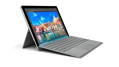 """Foto Microsoft Surface Pro 4 Tablet PC da 8 GB, Display da 12.3"""", Processore Intel Core i5, SSD 256 GB + Cover in alcantara"""