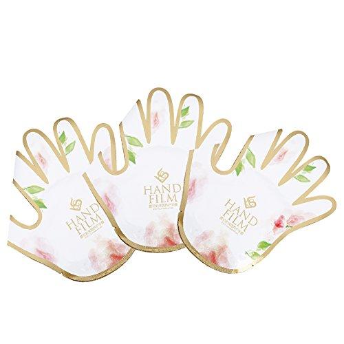 3 Paar Hand Maske Datei Feuchtigkeitsspendende Handschuhe Hautpflege Glättung Whitening Anti-falten
