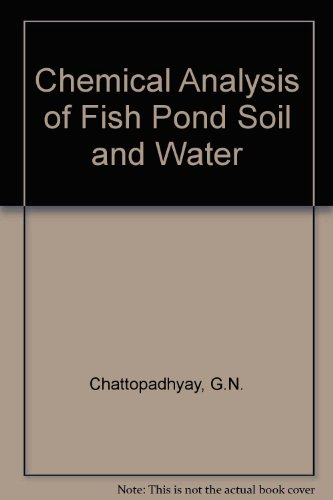 Chemical Analysis of Fish Pond Soil and Water