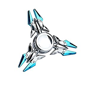 Fidget Spinner,Omiky® EDC Tri Metal Hand Spinner Finger Groy Toy for SBDX ADD ADHD Anxiety Autism Suffers from Omiky®