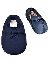 Per Saco de Dormir Infantil Invierno Colchonetas Silla de Paseo Universales para Bebés Multifuncional Invierno Cojines