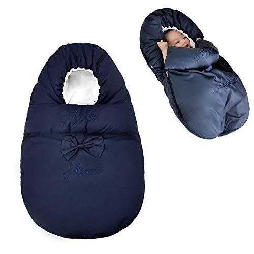 Ibaste-it sacco a pelo per bambini sacco a pelo invernale per bambini, sacco a pelo portatile caldo addormentato sacco a pelo di seta per bambini piccoli 3-18 mesi in cotone leggero