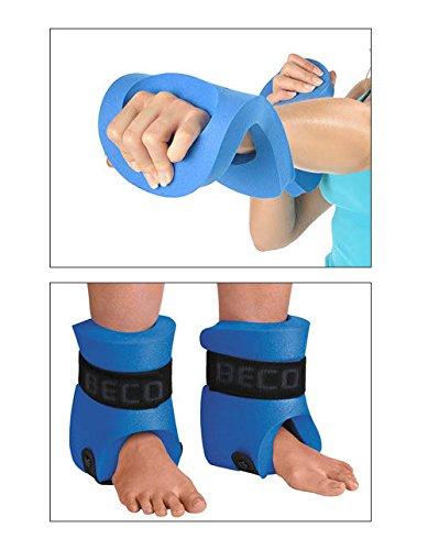 Beco Aqua-Kick-Box Handschuhe & Beinschwimmer Auftriebshilfe Aqua Gymnastik L