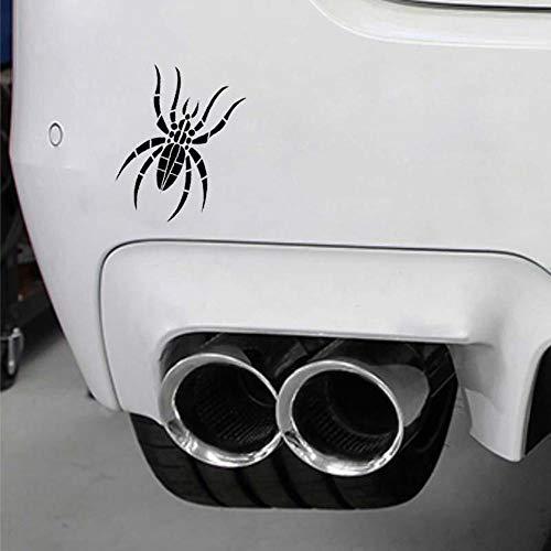 -Spinnen-Schablone Auto Fenster Stoßstange Vinyl Wasserdicht JDM Aufkleber 10 cm x 14,8 cm - Schwarz ()
