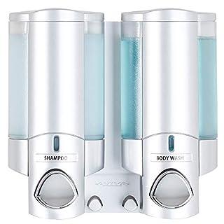 Better Living AVIVA Two Chamber Dispenser, Satin