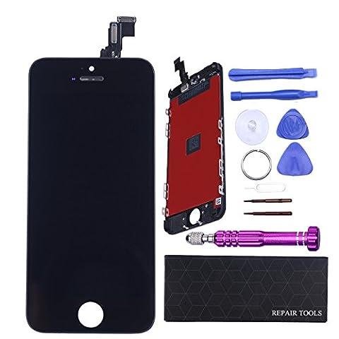 Kit Outil Iphone 5 - QI-EU Ecran de Remplacement LCD Retina Display