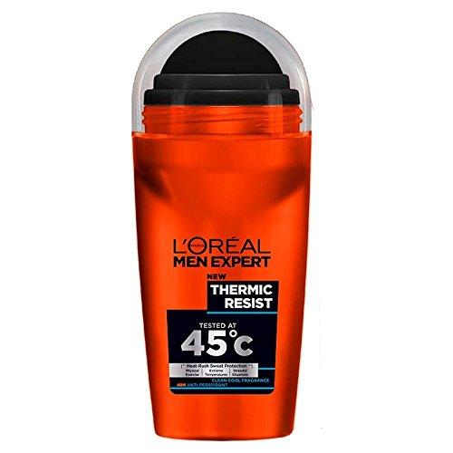 L'Oréal Paris Uomini Deodorante Roll-On Esperto - Termico Resistono (50ml) (Confezione da 6)