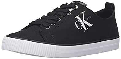 Dora Canvas Blk, Sneaker Donna, Nero (Black R3556Blk), 41 EU Calvin Klein