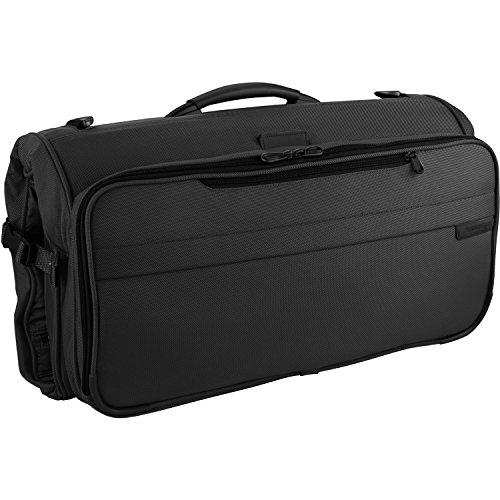 Briggs & Riley Baseline Compact Garment Bag / Kleidersack 55, 9 cm, black (Briggs Und Riley Kleidersack)