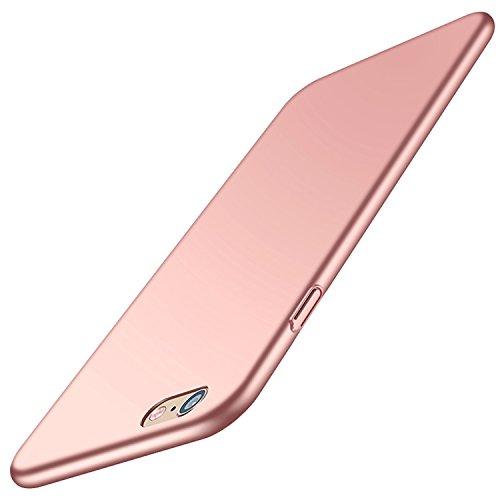 Rote Rosen Iphone (iPhone 6S Hülle, Aostar iPhone 6 6S Hart PC Hülle Bumper Cover Ultra Slim Stoßfest Schrubben PC Plastik Harte Hülle Schutzhülle Tasche Rückschale Hardcase für Apple iPhone 6/6S (4,7