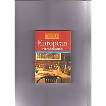 Berlitz European Menu Reader