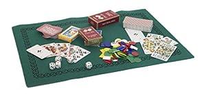 Francia Mapas - 395165 - Juego de Cartas - Big Box de Madera con Juegos y Alfombras