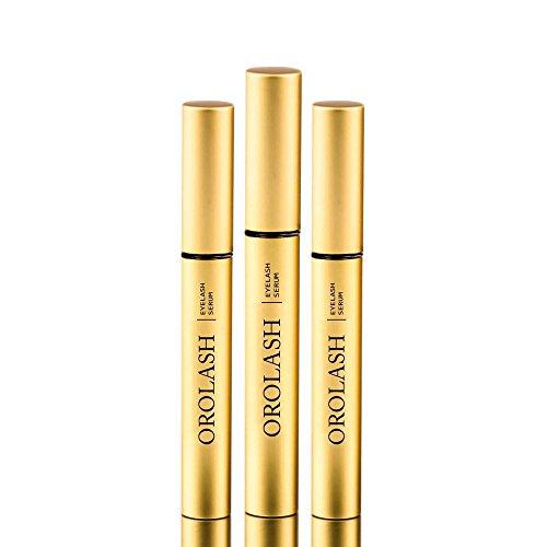 Il miglior siero per ciglia: orolash 3ml (3 mesi) - naturale ultra rapido - super efficace