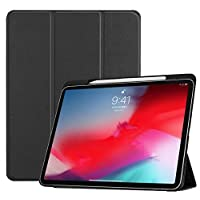 Black Case For iPad Pro 11 (2018) Smart Cover With Pencil Holder Funda For iPad Pro 11 inch 2018 Slim Stand Shell