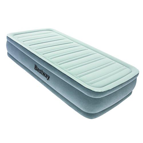 Bestway-Airbed-Sleepzone-Premium-Materasso-Gonfiabile-Singolo-Comfort-Cell-Tech-Grigio