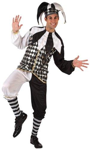 Imagen de atosa  disfraz de arlequín para hombre, talla xl 6023