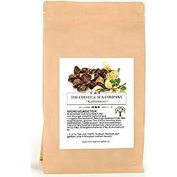 Kräutertee aromatisiert Moringa Star Natürlich 900 g | Moringa Detox mit Orange-Limette-Geschmack Nachfüllpack | Loser Tee im Kraftpapierbeutel