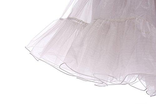 Bbonlinedress Organza 50s Vintage Rockabilly Petticoat Underskirt Grey