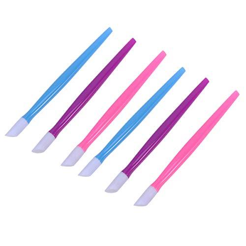 SUPVOX 36 unids manicura plástico removedor piel
