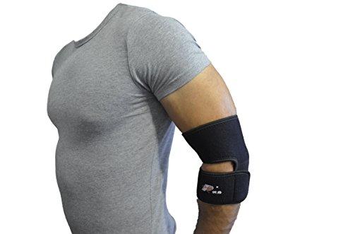 Verstellbare Neopren Tennis Golfer Ellenbogen-Bandage Wrap Arm Halteband Band (Neo Ärmel Tennis-ellenbogen)