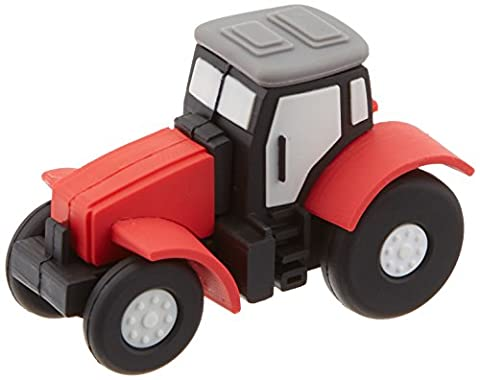 Funny Design USB Stick by aricona – Form Traktor 16 GB, schneller USB 2.0/1.1, coole, lustige Figur Speichersticks mit Plug&Play, originelle, witzige Motiv Sticks, das besondere Geschenk